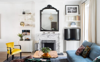 A Pattern-Filled Home in Williamsburg Celebrates Stylish Family Living
