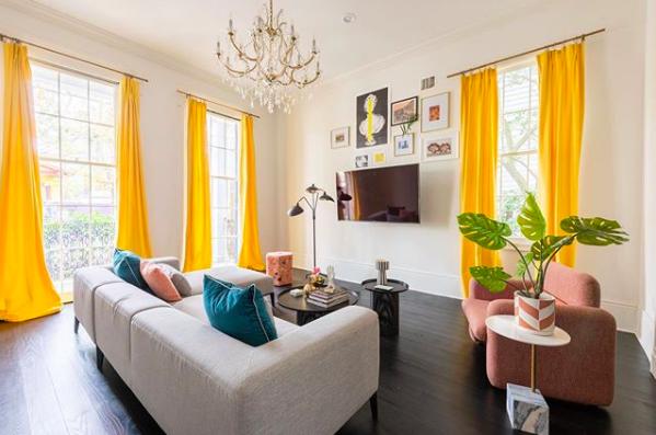 What Color Walls Go with Gray Furniture? @maureenstevensdesign