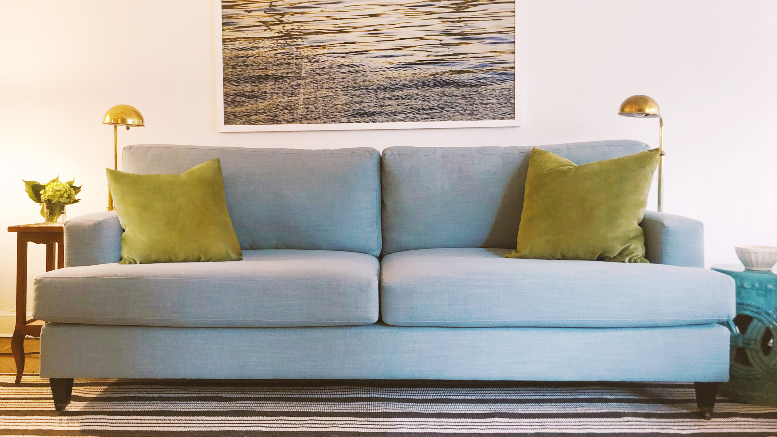 What type of couch is best for a small living room?