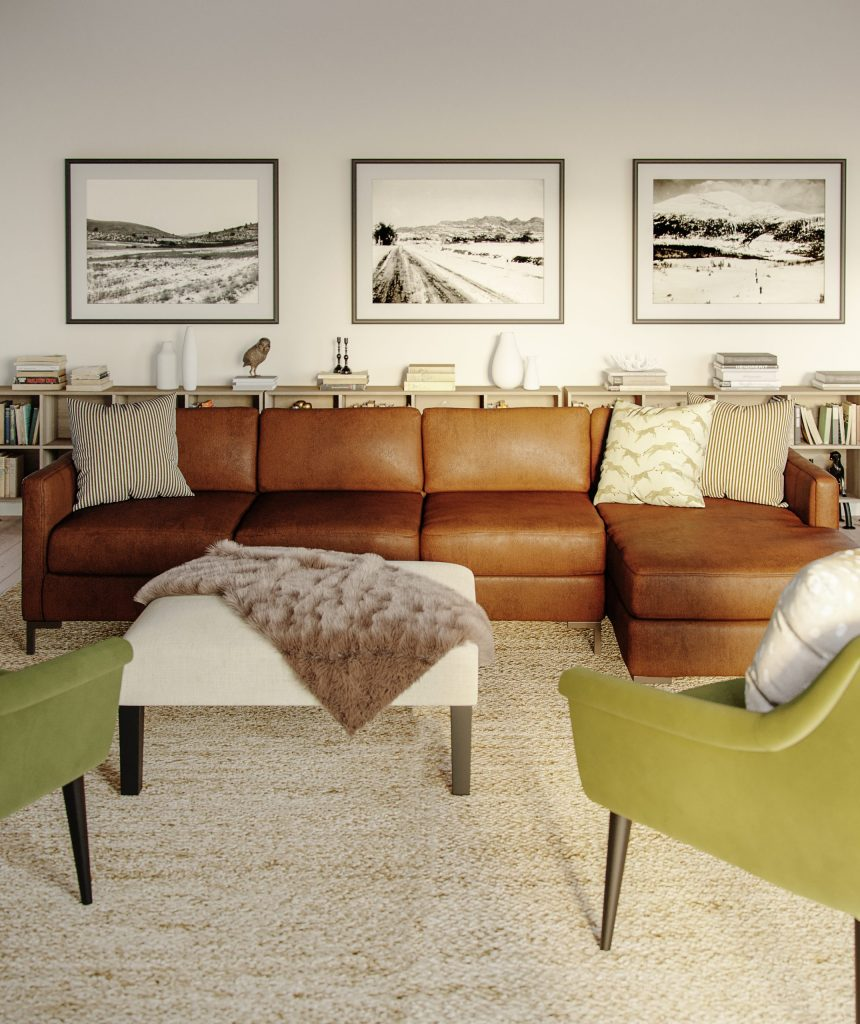 Leather Sectional Lifestyle