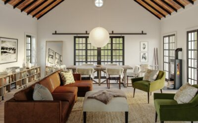 Picking Paint Colors that Work with Brown Furniture